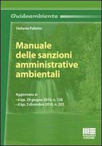 Manuale delle sanzioni amministrative ambientali