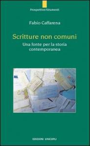 Scritture non comuni