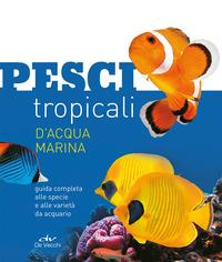Pesci tropicali d'acqua marina