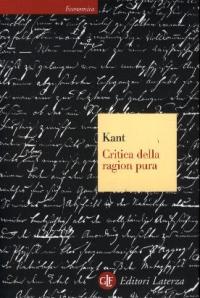 Critica della ragion pura / Immanuel Kant