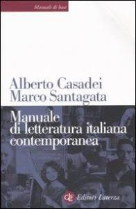 Manuale di letteratura italiana contemporanea
