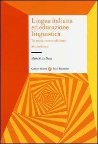 Lingua italiana ed educazione linguistica