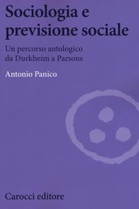 Sociologia e previsione sociale