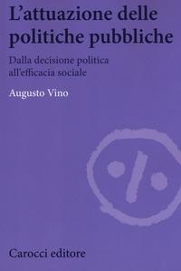 L' attuazione delle politiche pubbliche