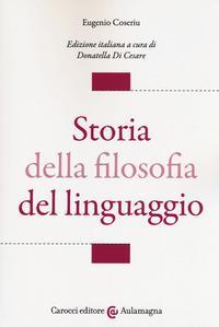 Storia della filosofia del linguaggio