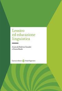 Lessico ed educazione linguistica