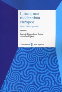 Il romanzo modernista europeo