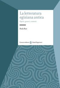 La letteratura egiziana antica
