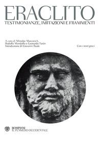 Testimonianze, imitazioni e frammenti