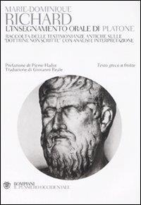 L'insegnamento orale di Platone