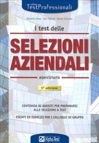 I test delle selezioni aziendali