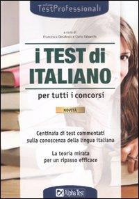 I test di italiano per tutti i concorsi