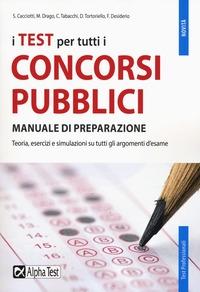 I test per tutti i concorsi pubblici