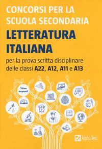 Concorsi per la scuola secondaria. Letteratura italiana