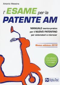 L'esame per  la patente AM