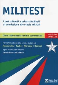 I test culturali e psicoattitudinali di ammissione alle scuole militari