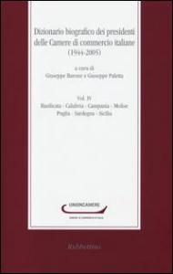 Vol. 4: Basilicata, Calabria, Campania, Molise, Puglia, Sardegna, Sicilia
