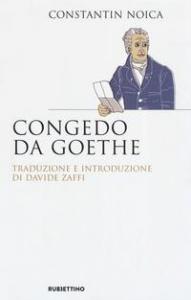 Congedo da Goethe