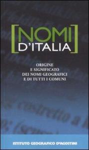 Nomi d'Italia