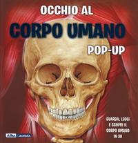 Occhio al corpo umano pop-up