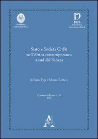 Stato e società civile nell'Africa contemporanea a sud del Sahara