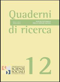 Analisi fattoriale per le scienze sociali
