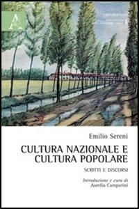 Cultura nazionale e cultura popolare