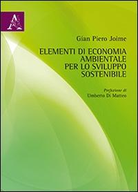Elementi di economia ambientale per lo sviluppo sostenibile