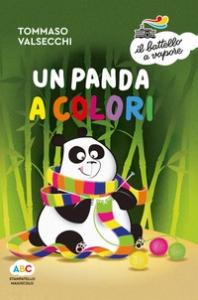 Un panda a colori