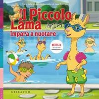 Il piccolo Lama impara a nuotare