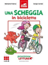 Una scheggia in bicicletta