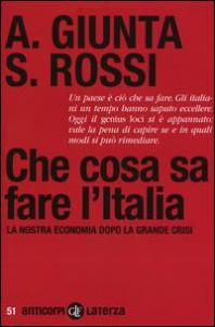 Che cosa sa fare l'Italia