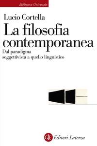 La filosofia contemporanea