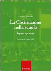 La Costituzione nella scuola