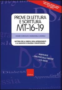 Prove di lettura e scrittura MT-16-19