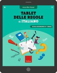 Tablet delle regole di italiano