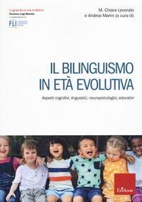 Il bilinguismo in età evolutiva