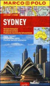Sydney: pianta città 1:15.000