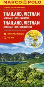 Thailand, Vietnam, Myanmar, Laos, Cambodia