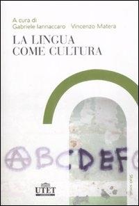 La lingua come cultura