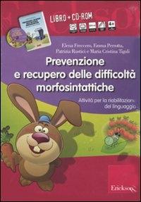 Prevenzione e recupero delle difficoltà morfosintattiche