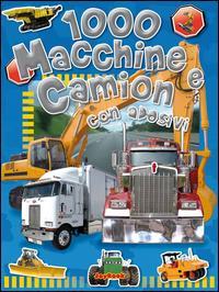 1000 macchine e camion con adesivi