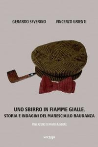 Uno sbirro in fiamme gialle