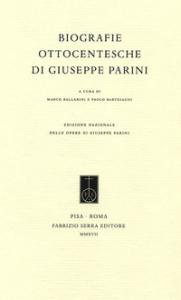 Biografie ottocentesche di Giuseppe Parini