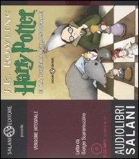 Harry Potter e la pietra filosofale [Audioregistrazione] / J. K. Rowling ; letto da Giorgio Scaramuzzino