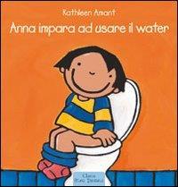 Anna impara ad usare il water