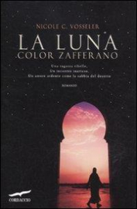 La luna color zafferano