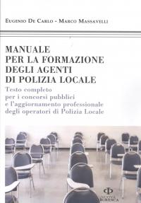 Manuale formazione degli agenti di polizia locale