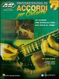 Progressioni di accordi per chitarra