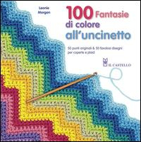 100 fantasie di colore all'uncinetto